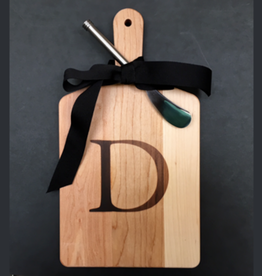 J.K. ADAMS CO. Maple Cheese Board w/spreader D