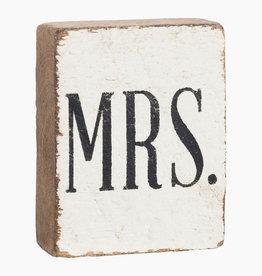 RUSTIC MARLIN MRS RUSTIC BLOCK