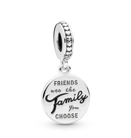 PANDORA Friends are the Family You Choose Charm