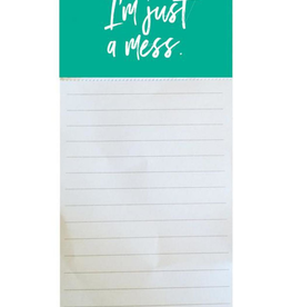 MAGNETIC NOTEPAD HOT MESS