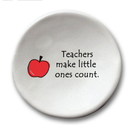 AUGUST CERAMICS ROUND DISH APPLE: TEACHERS MAKE...