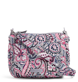VERA BRADLEY Carson Mini Shoulder Bag Gramercy Paisley
