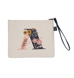 DANICA DESIGN INC A MONOGRAM ZIP POUCH