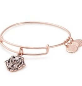 ALEX AND ANI Godspeed II Charm Bangle-Rose Gold, Silver Or Gold