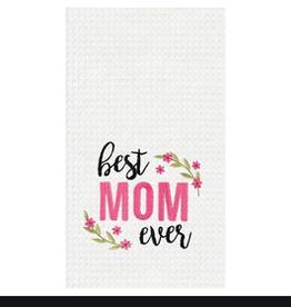 C&F ENTERPRISES, INC. BEST MOM EVER TOWEL