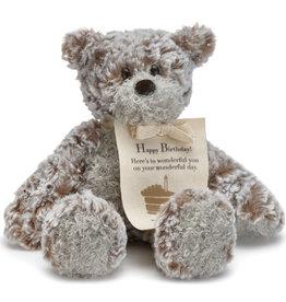 DEMDACO Giving Bear Mini - Happy Birthday