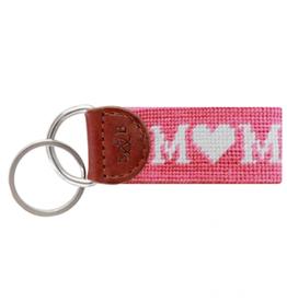SMATHERS & BRANSON Mom Needlepoint Keyfob