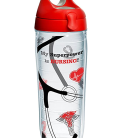 TERVIS TUMBLER COMPANY NURSE SUPERPOWER WATER BOTTLE 24 OZ