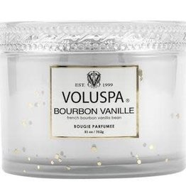VOLUSPA 11oz.Boxed Candle W/Lid VOLUPSA Boxed Bourbon Vanille