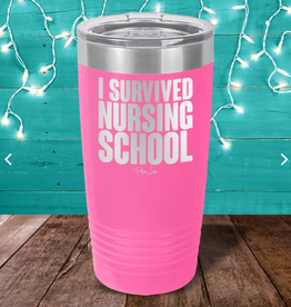 I Survived Nursing School Tumbler