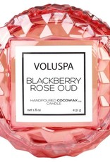 VOLUSPA 1.8oz. Macaron Candle Blackberry Rose