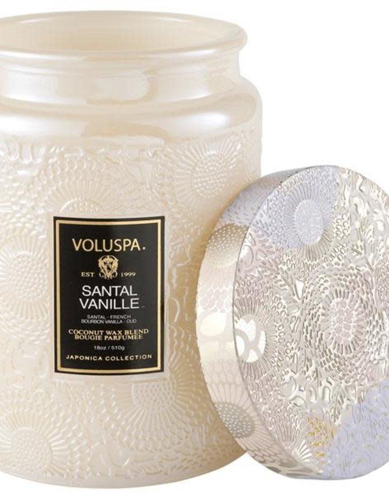 VOLUSPA 18oz. Large Jar Candle Santal Vanille