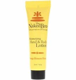 THE NAKED BEE HAND & BODY LOTION ORANGE BLOSSOM HONEY .5OZ