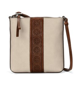 BRIGHTON Feli Crossbody Whisky-Stone