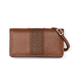 BRIGHTON Bourbon Interlok Large Wallet