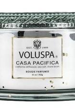 VOLUSPA 11oz. Boxed Candle W/Lid Casa Pacifica