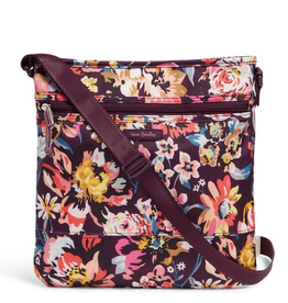 VERA BRADLEY Lighten Up Slim Crossbody Indiana Blossoms