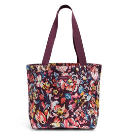 VERA BRADLEY Lighten Up Shopper Tote Indiana Blossoms