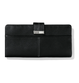 BRIGHTON Barbados Large Pocket Wallet Black