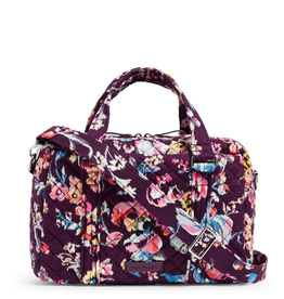 VERA BRADLEY Iconic 100 Handbag Indiana Rose