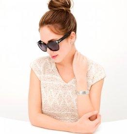 BRIGHTON Ferrara Stud Sunglasses - Black