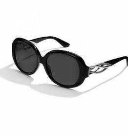 BRIGHTON Neptunes Rings Swirl Sunglasses - Black