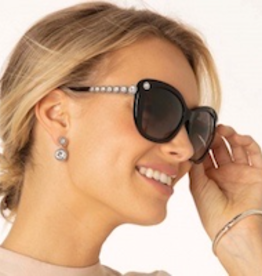 BRIGHTON Twinkle Link Black Sunglasses