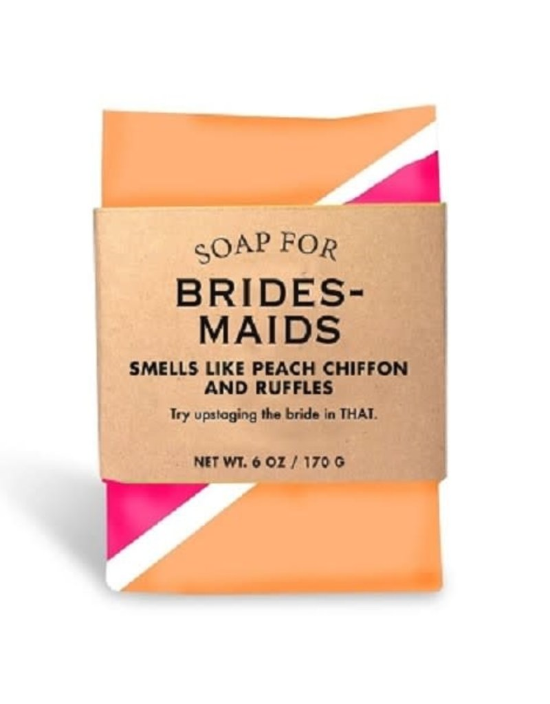 WHISKEY RIVER SOAP CO LLC 6oz. Soap for Bridesmaids