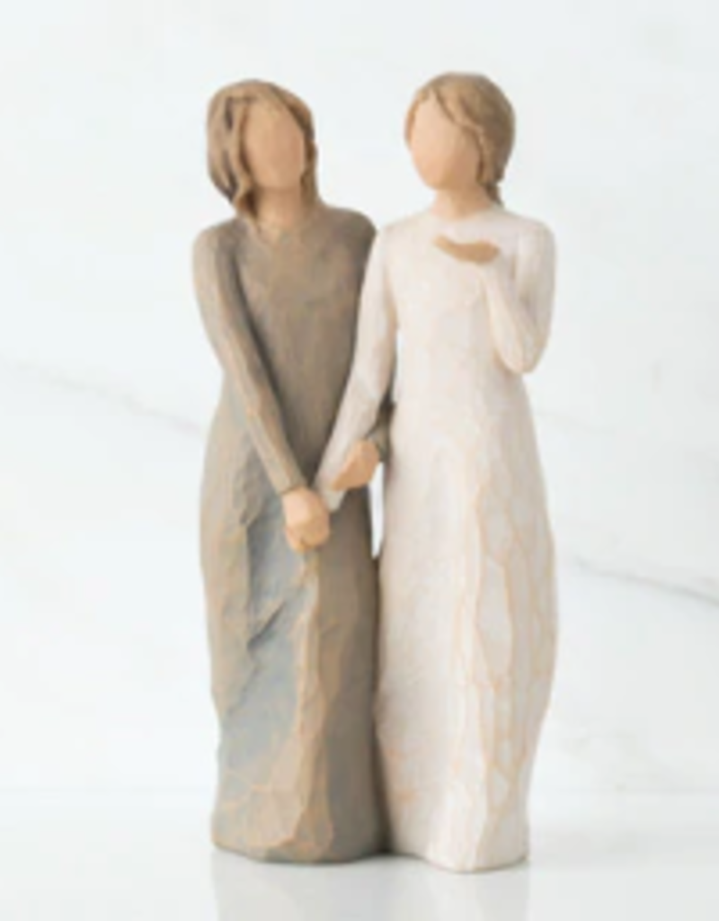 Willow Tree Figurines-My Sister My Friend