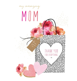 PICTURA, INC MY AMAZING MOM HAPPY MOTHER'S DAY CARD