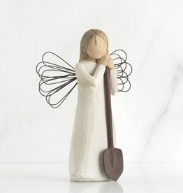 Angel Of The Garden Willow Tree