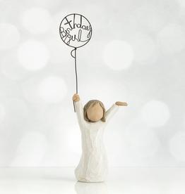 Willow Tree Figurines-Birthday Girl