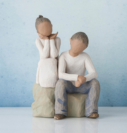 Willow Tree Figurines-Brother And Sister