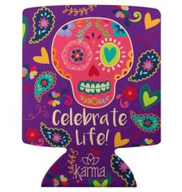 KARMA Can Cooler- Sugar Skull