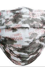 Face Mask Disposable 3-Layer Pink Camo-(Set Of 7)