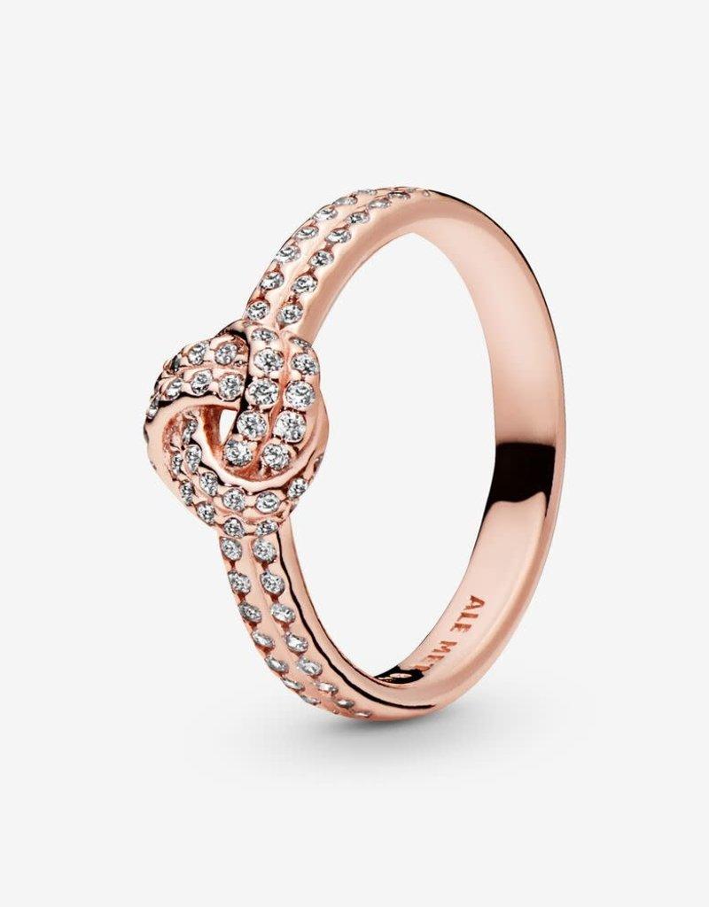 Pandora Shimmering Love Knot Ring Pandora Rose Heart And Home