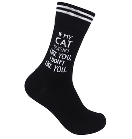 FUNATIC Crew Socks-If My Cat Doesn't Like You