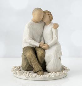 Willow Tree Figurines-Anniversary Cake