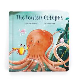 "JELLYCAT INC. Book ""The Fearless Octupus"""