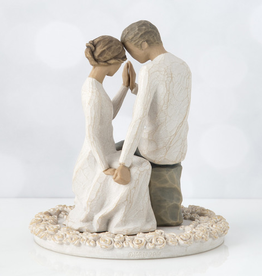 Willow Tree Figurines-Around You Cake Topper