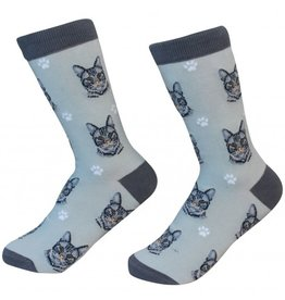 Pet Lover Unisex Socks - Tabby (Silver) Cat