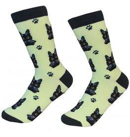 Pet Lover Unisex Socks - Black Cat