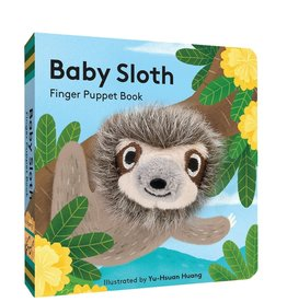 Finger Puppet Book Baby Sloth