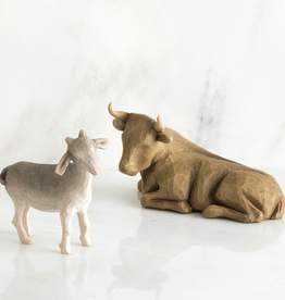 Willow Tree Figurines-Ox And Goat Nativity