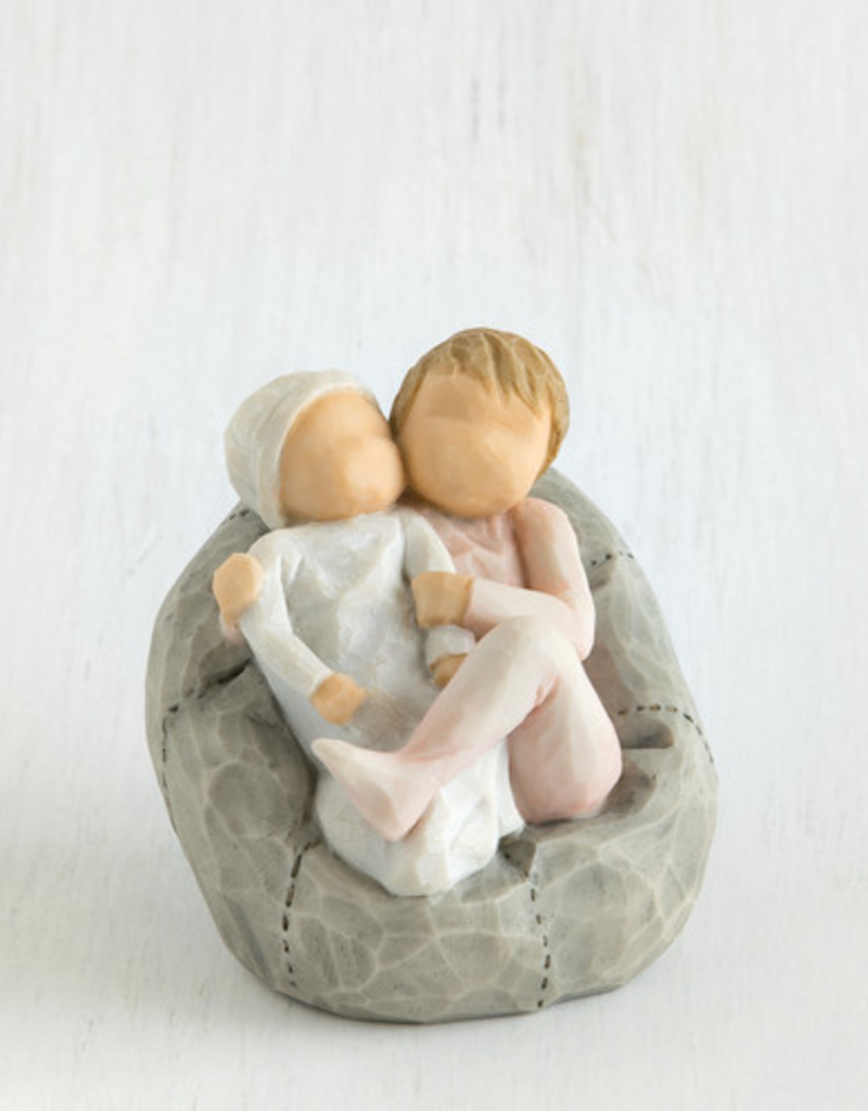 Willow Tree Figurines-My New Baby (Blush)