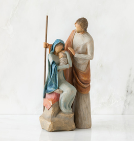 DEMDACO The Holy Family Nativity Willow Tree