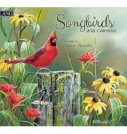 LANG COMPANIES 2021 SONGBIRDS  WALL CALENDAR