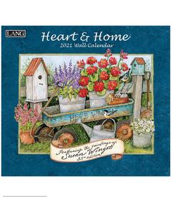 LANG COMPANIES 2021 HEART & HOME WALL CALENDAR