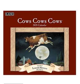 LANG COMPANIES 2021 COWS COWS COWS WALL CALENDAR