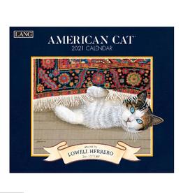 LANG COMPANIES 2021 AMERICAN CAT WALL CALENDAR